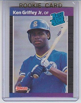 Amazoncom 1989 Donruss Ken Griffey Jr Rookie 33