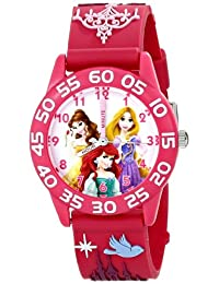Disney Kids W001514 Princess Peach 3D Plastic Strap Watch