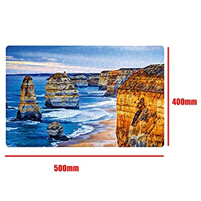 Jigsaw Puzzle, Adults Puzzles 500 Piece Landscape Puzzle Game Interesting Toys 19.7x15.7 Inch Easter and Eid Gifts: Home & Kitchen