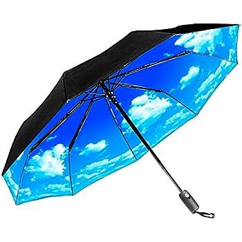 Amazon Com Repel Windproof Travel Umbrella With Teflon