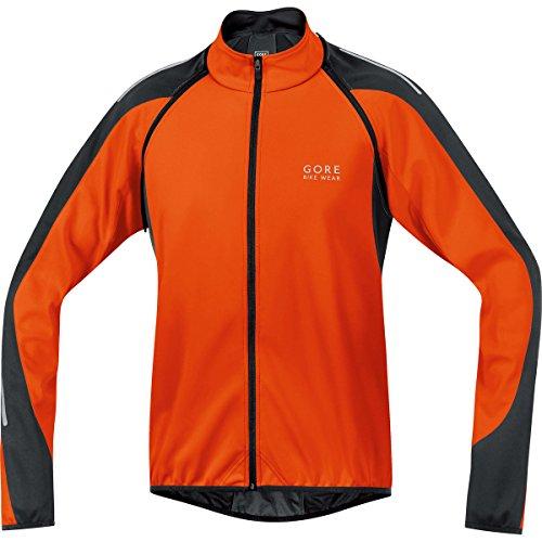 Gore Bike Wear Men's Phantom 2.0 Soft Shell Jacket, Blaze Or