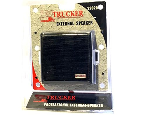 Pro Trucker 4.5'' 20 Watt Dynamic External Speaker With 6 ft 3.5mm Plug