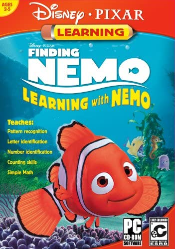 B000AQDRL8 Disney/Pixar's Finding Nemo: Learning with Nemo [Old Version] 513PEEM2QPL