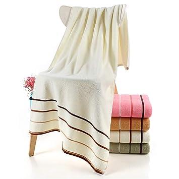 WXH Toalla de baño/algodón Terry paño súper Suave Absorbente Toalla Adecuado para Piscina Gimnasio