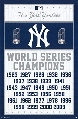 Trends International New York Yankees Champions Wall Posters