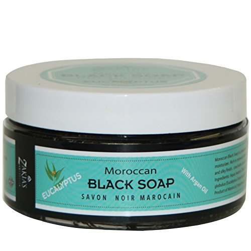 Moroccan Black Soap - Eucalyptus-The Healing Soap … - Exfoliate Pilaris Keratosis