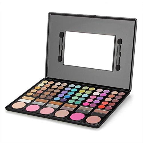 20 opinioni per Paletta 78 Colori Ombretti Blush Make Up Trucco Specchio Pennelli