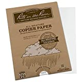 Rite in the Rain Weatherproof Laser Printer Paper, 8 1/2'' x 11'', 20# White, 50 Sheet Pack (No. 8511-50)