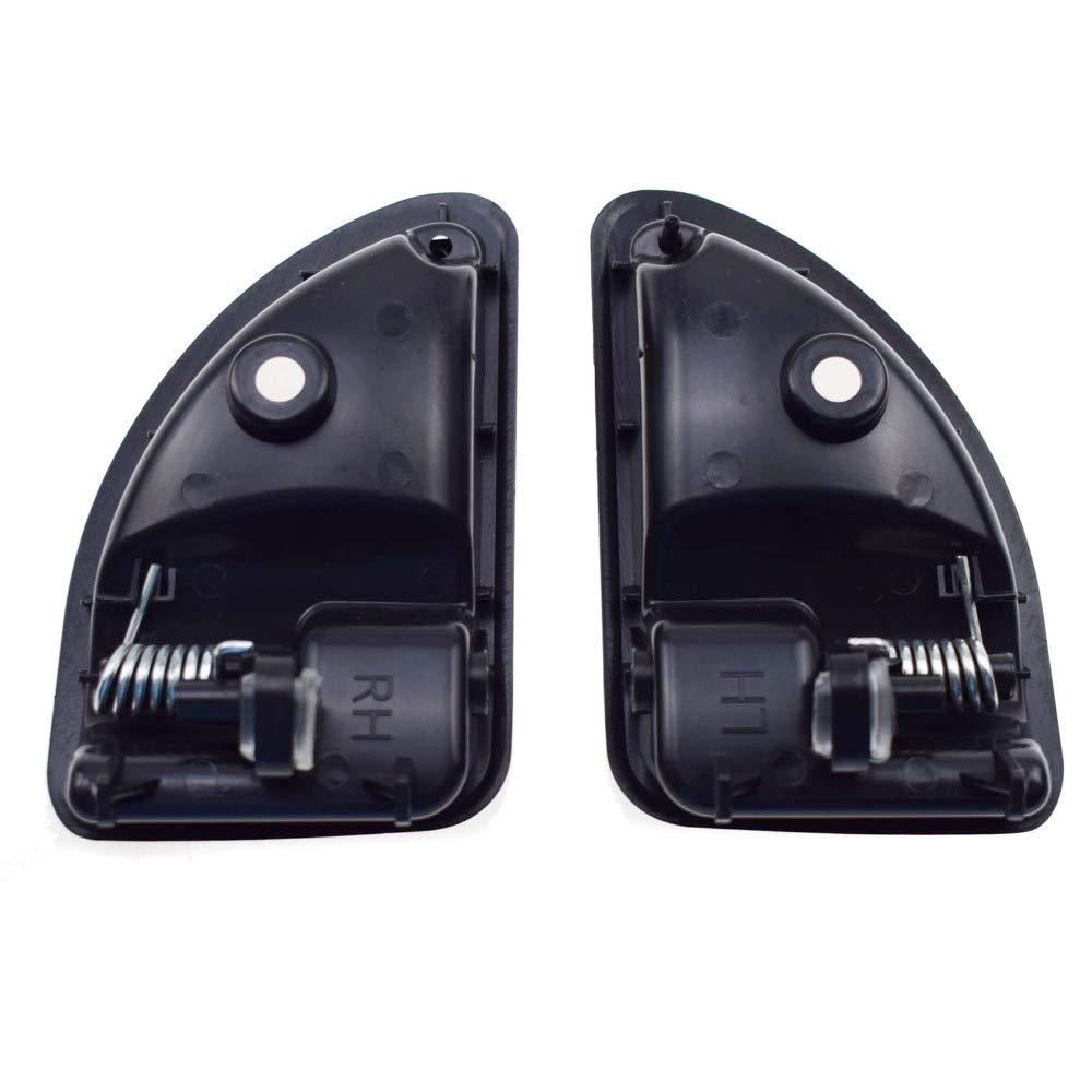 Color Negro ETbotu 8200247802 Tirador de Puerta para Coche Renault