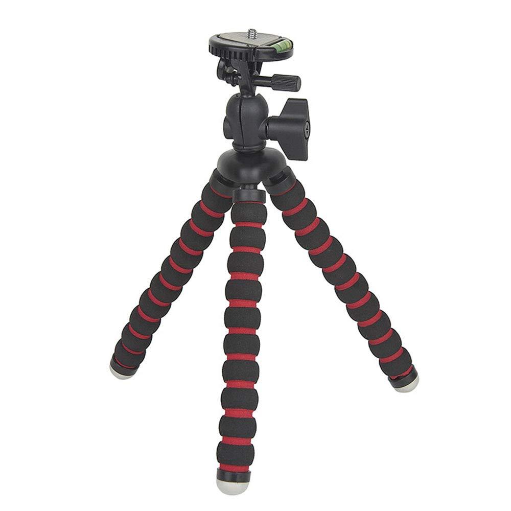 DZSF Phone Camera Tripod Sponge Can Be Wrapped Self-Timer Telescopic Bracket Phone SLR Mini Portable Lightweight Stabilizer by DZSF