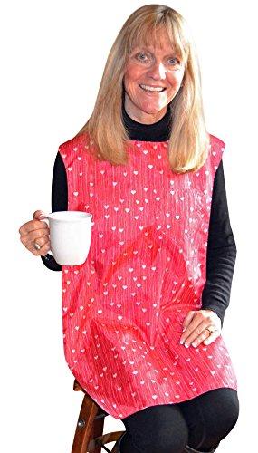 TidyTop Stylish Clothing Protector HEARTS