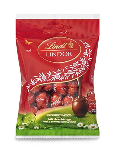 Lindt , Lindor Milk Mini Easter Eggs Bag