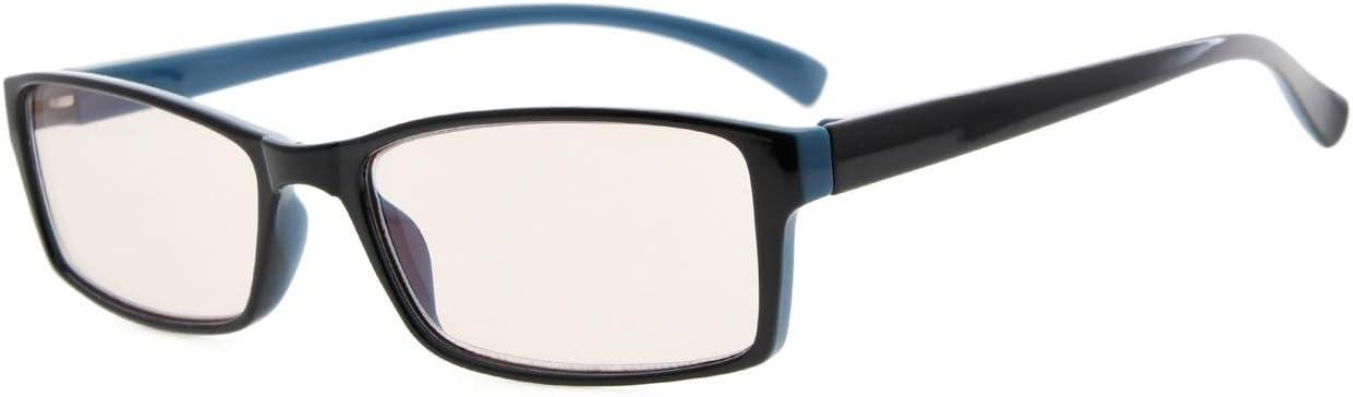 2.00 Eyekepper anti lumiere bleue Anti Fatigue des yeux lunettes de lecture Noir