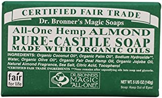 product image for Dr Bronners Magic Soap All One Obal05 5 Oz Almond Dr. Bronner'S Bar Soap