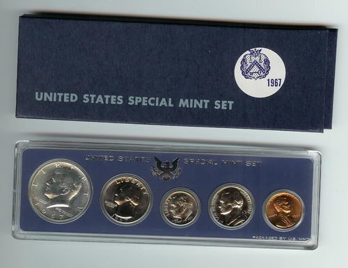 1967 Special US Mint Proof Coin Set