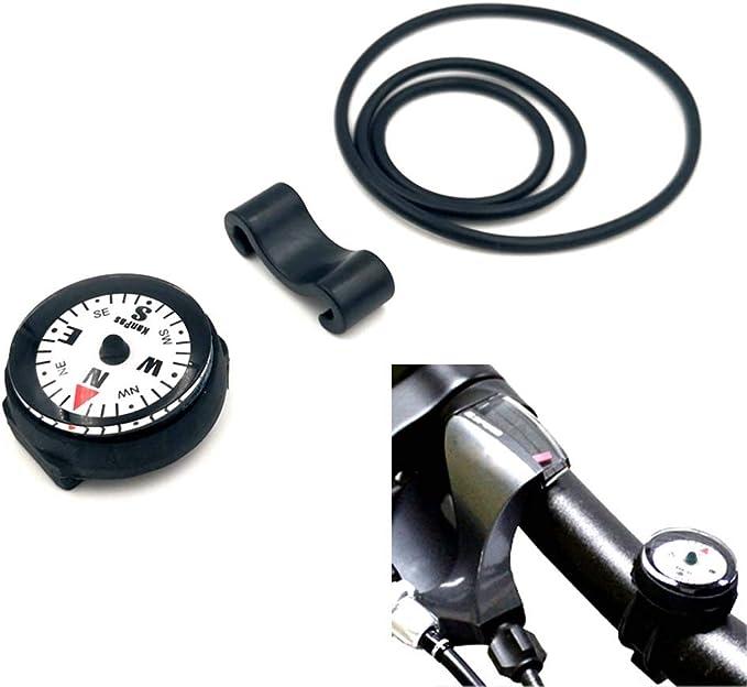 Nikou Compass Zinc Alloy Portable Carabiner Compass with Graduated Ring Outdoor Navigation Tools