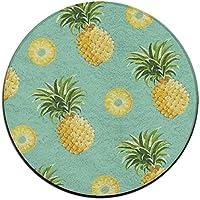 ART TANG Area Rug Carpet Non-slip Round Floor Mat Home Decor