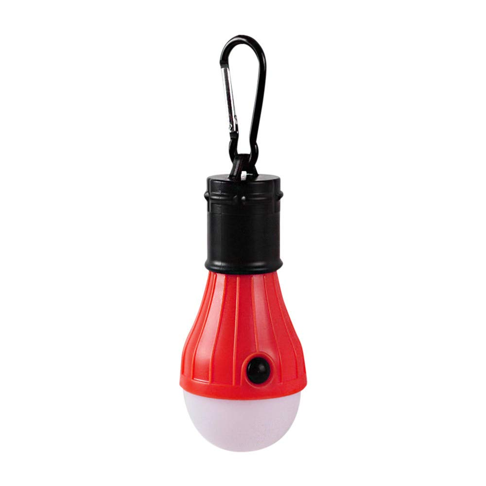 FEDULK Portable LED Camping Tent Light Bulb Super Bright Outdoor Hanging Fishing Lantern Lamp