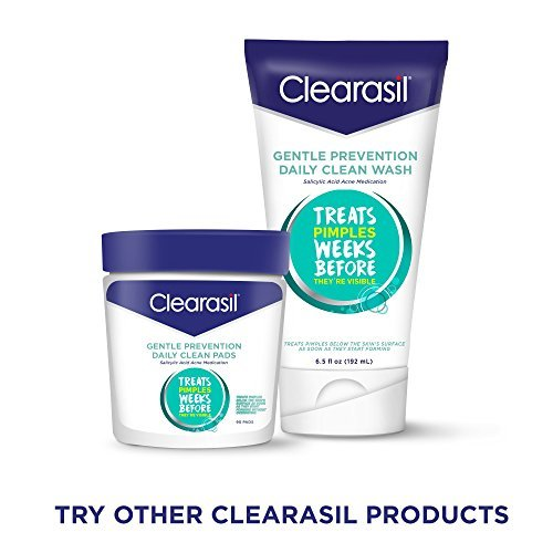 3 Pack - Clearasil Gentle Prevention Daily Clean Wash, 6.5 oz (Packaging May Vary) Natural Beauty Aqua Nature Refreshing Facial Cleansing Mousse - 5.07 fl. oz. by Annemarie Borlind (pack of 2)