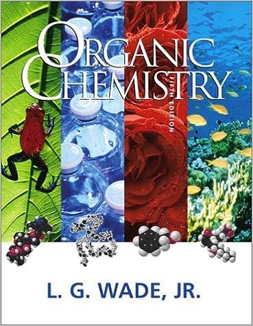 Organic chemistry 5th edition leroy g wade 9780130338327 organic chemistry 5th edition 5th edition fandeluxe Gallery
