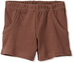 L\'ovedbaby Unisex baby Short, Out on the town Brown, 12 24 Months