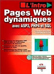 Pages Web dynamiques avec ASP, PHP, SQL