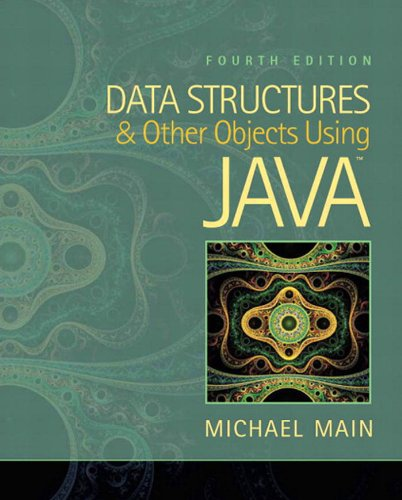 Data Structures and Other Objects Using Java Doc
