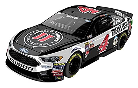 Lionel Racing Kevin Harvick # 4 Jimmy John's 2017 Ford Fusion 1:24 Scale ARC HOTO Official Diecast of the Monster Energy NASCAR Cup Series.