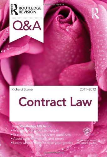 Q&A Contract Law 2011-2012 (Questions and Answers)