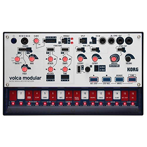 Korg Volca Modular Semi-Modular Synthesizer with Sequencer