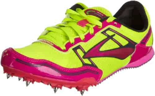 2cd6535d37bf8 Brooks Womens PR MD 54.26 Track Spikes Pink GlowNightlife Anthracite