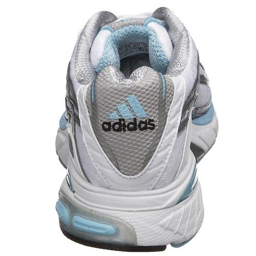 Scarpa Da Running Adidas Da Donna Adistar Con Cuscinetto Wht / Liq Blu / Argento