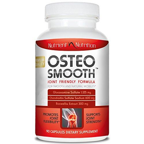 Osteosmooth Glucosamine Sulfate Chondroitin Sulfate and Boswellia 90 Capsules