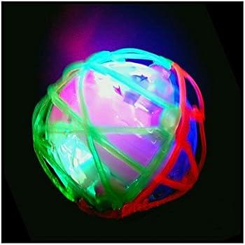 Light-Up Led Flashing Vibrating Bouncing Musical Ball b