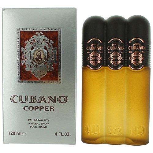 Price comparison product image Cubano Copper By Cubano For Men. Eau De Toilette Spray 4 Ounces