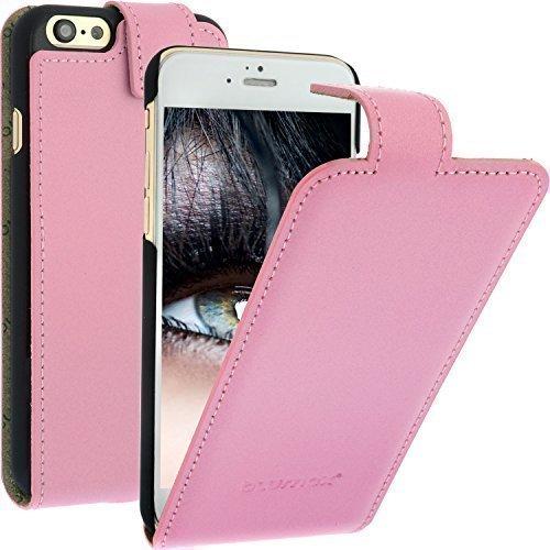"""Flip Case Ledertasche für Apple iPhone 6 pink 4,7"""" mit Magnetverschluss, Leder, Handytasche, Etui von Blumax"""