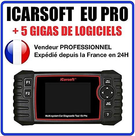 Icarsoft CR PLUS Valise de diagnostique PRO toutes marques avec ecran
