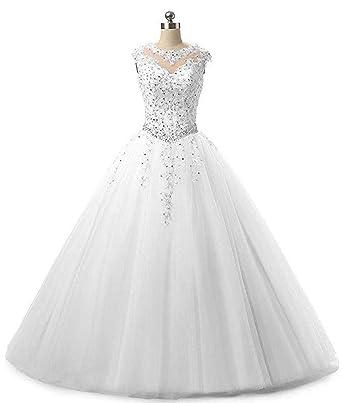 Onlybridal Women\'s Sleeveless Quinceanera Dresses Ball Gown ...