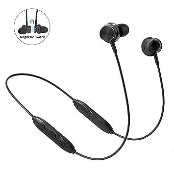 Langsdom Auriculares Bluetooth V5,0, Auriculares magnéticos ...