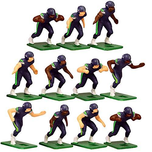 Seattle Seahawks Football Jersey - Seattle SeahawksHome Jersey NFL Action Figure Set