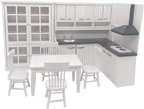 Csatai 1:12 Casa de Muñecas Miniatura de Muebles de ... - Amazon.es