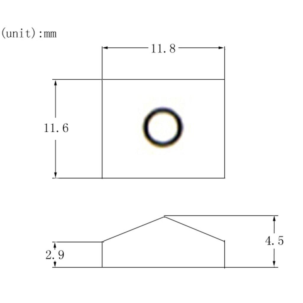 Magideal 3 Pieces Electric Guitar Locking Nut Clampscrews For Floyd Rose Diagram Tremolo Bridge Silver Hnqhx0906usa