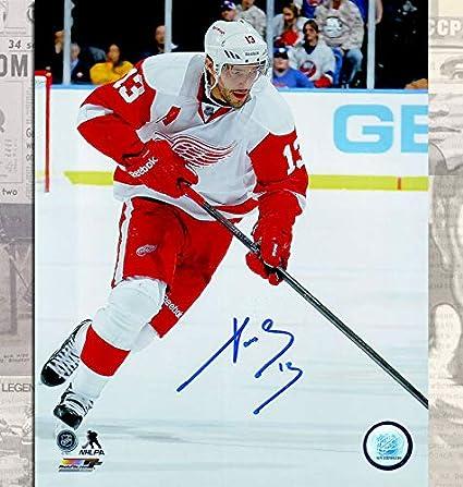 quality design 82221 7914a Amazon.com : Pavel Datsyuk Detroit Red Wings Autographed ...