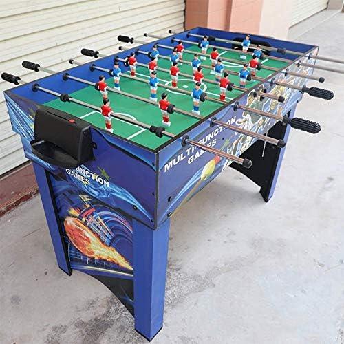 YUHT Futbolín Infantil,Mesa de Futbolín,Multifunción de 4-en-1 de Billar/ futbolín/Hielo Hockey de Mesa/Ping-Pong Familias - recreativos Futbolín Salas de Juego, Arcadas, Bares: Amazon.es: Deportes y aire libre