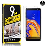 Galaxy J4 Plus 2018 Screen Protector, Bear Village® Tempered Glass Screen Protector, HD Screen Protector Film for Samsung Galaxy J4 Plus 2018-1 PACK
