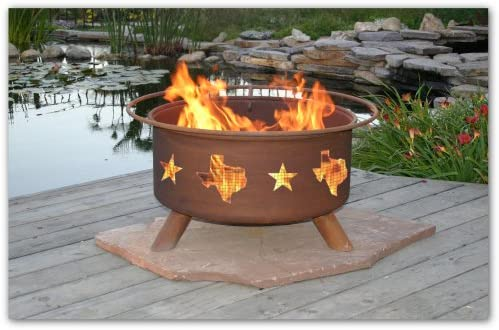 Patina Products F115, 30 Inch Lone Star Fire Pit