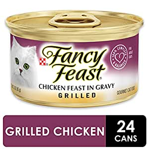 Purina Fancy Feast Grilled Chicken Feast In Gravy Adult Wet Cat Food - (24) 3 Oz. Cans