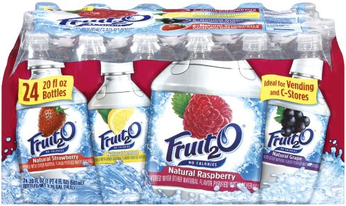 - Fruit2O, Raspberry, Strawberry, Lemonade, Grape, 20-Ounce Bottles (Pack of 24)