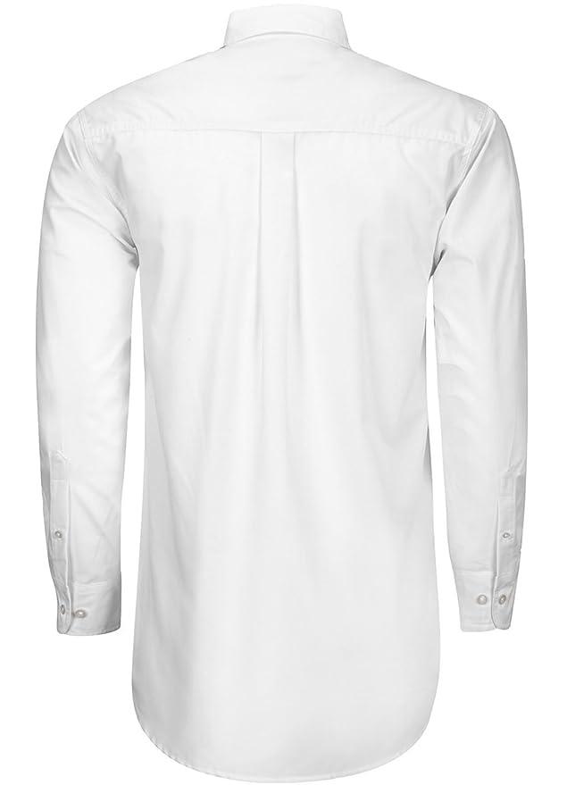 Camisa Caballero Dacache Manga Larga Polycotton color Blanco Hombre Uniforme  Empresarial Ejecutivo Oficina  Amazon.com.mx  Ropa 0a21fc1823a73