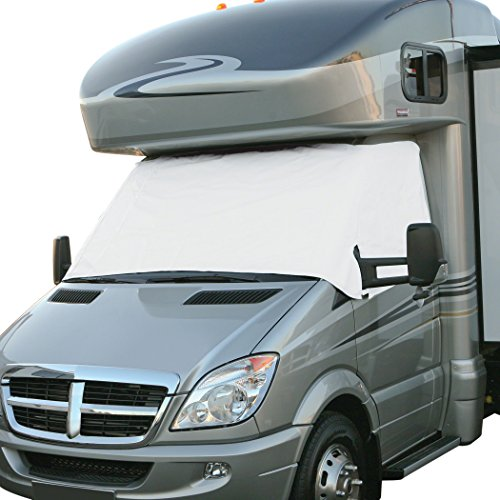 Classic Accessories Snow White RV Windshield Cover